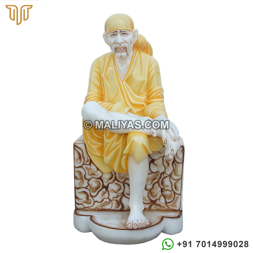 Marble Sai Baba Statue Manufacturers Exporters And