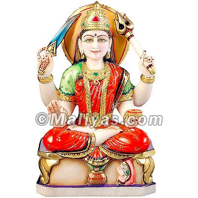Santoshi Mata Murti Marble Santoshi Mata Statue Santoshi
